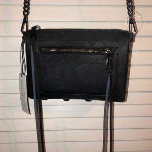 NWT Rebecca Minkoff Avery crossbody bag in black